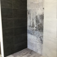 DP3170 Iron with DP2188 Shadow Feature & DP3171 Silver Grey_Tile Living Drummoyne