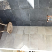 DP3260, DP3261, DP3263 - Nero, Chocolate & Almond - Stonewashed Concrete Look, Tile Living Drummoyne