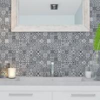 DL3909 320x625mm Monochrome Feature Tile_Tabletop_Tile Living Drummoyne