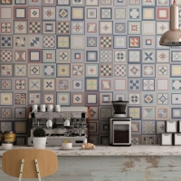 DL3919 332x332mm Colourful Feature Tile_Also avail in Monochrome_Splashback_Tile Living Drummoyne